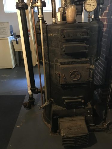 Ancient boiler