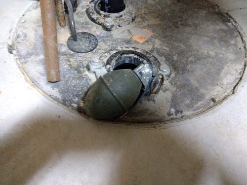 Ok, we won't inspect the sump basket