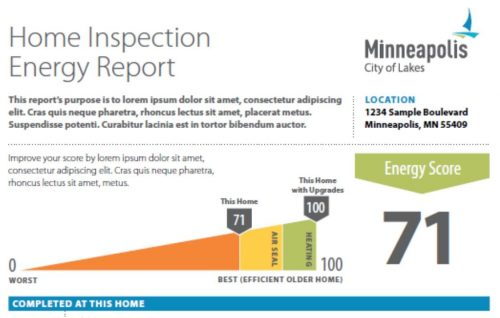 Minneapolis Energy Disclosure