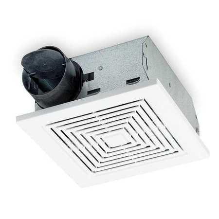 Bath fan with internal damper