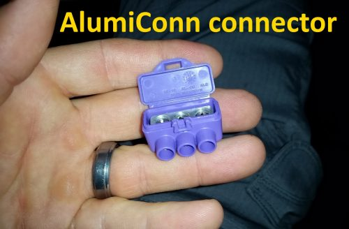 AlumiConn connector