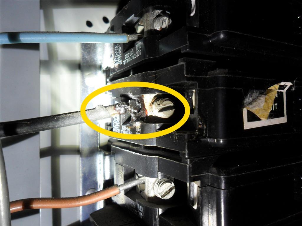 hazards with aluminum wiring homesmsp. Black Bedroom Furniture Sets. Home Design Ideas