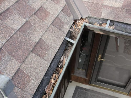 DIY Gutter System Screen
