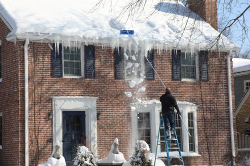 DIY snow removal
